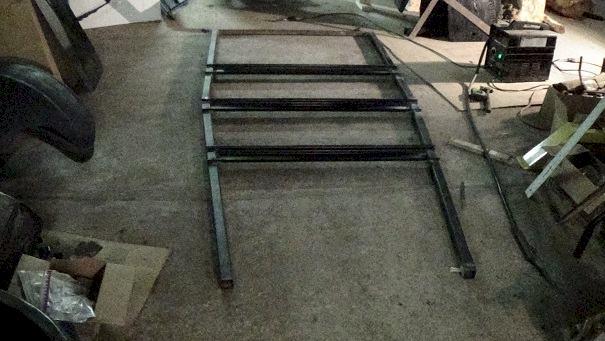 sub frame on floor