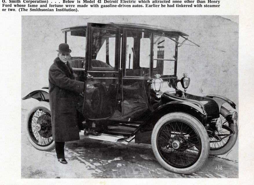 Model T Ford Forum: 1913-ish Edison/Ford Electric Car