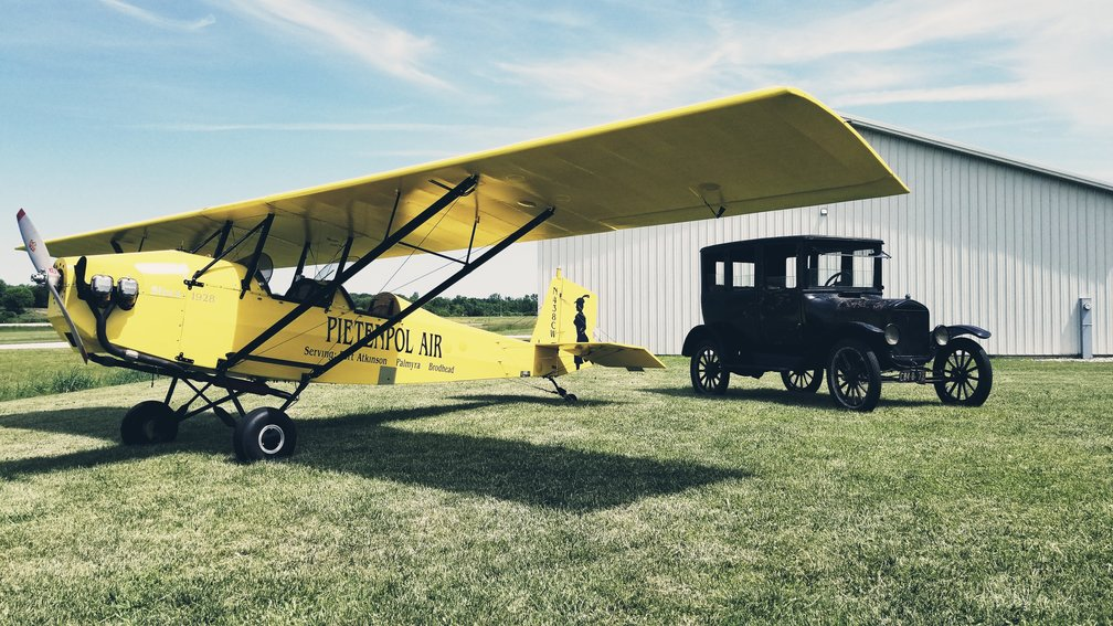 Model T Ford Forum: Fun day at the Air Park