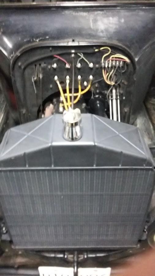 New Bergs radiator