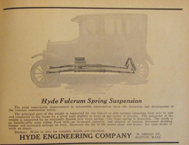 Hyde Fulcrum suspension