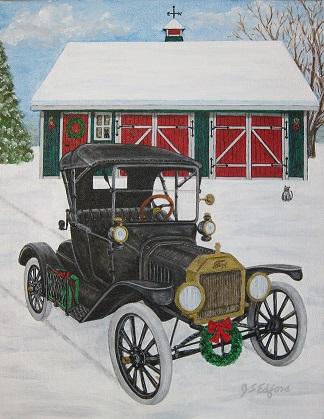Model T Christmas