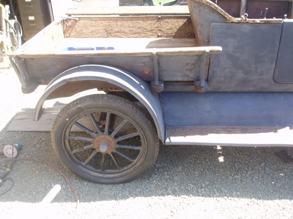 wood bed for pick up