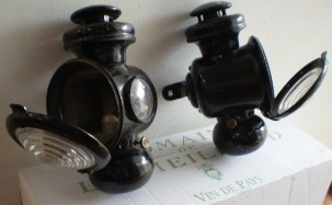 early ford side lamps (1900)