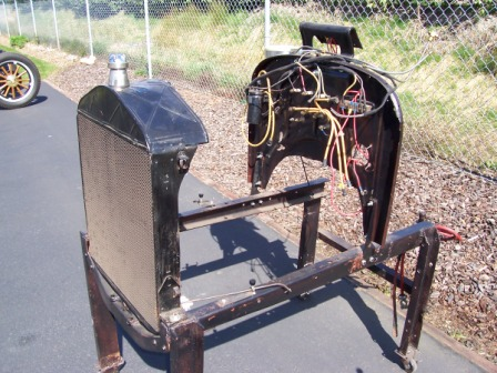 how to make an engine test stand