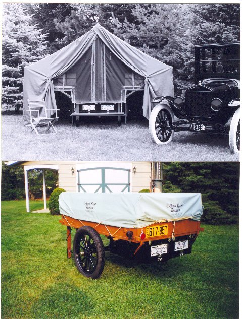 tent trailer & Model T Ford Forum: IClare Camper Information