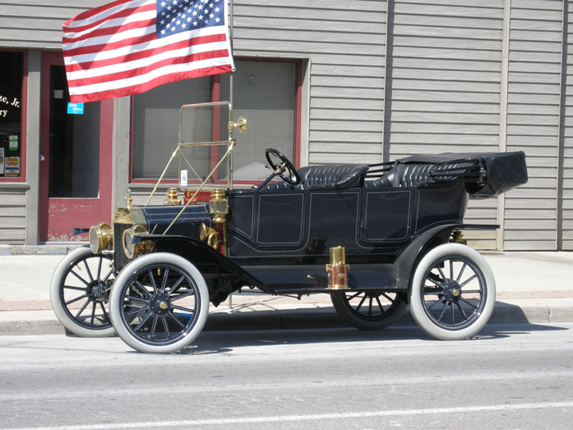 1912 model t touring car