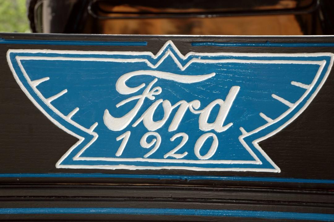 Testing out Ford T-bird Pyramid Logo