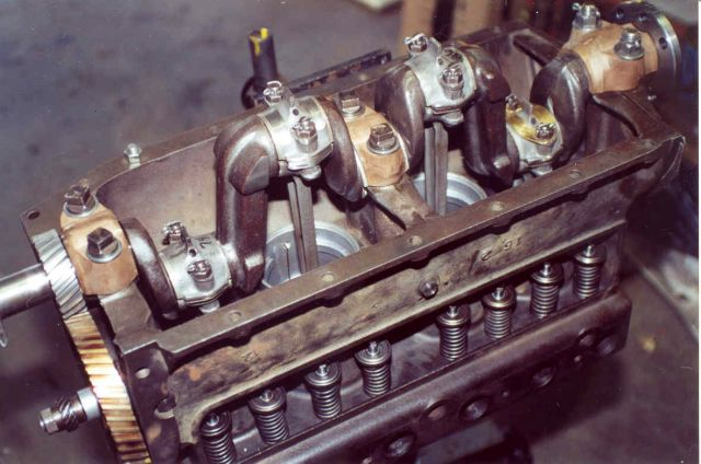 Model T Ford Forum Pistons For Chevy Crank In A T Block