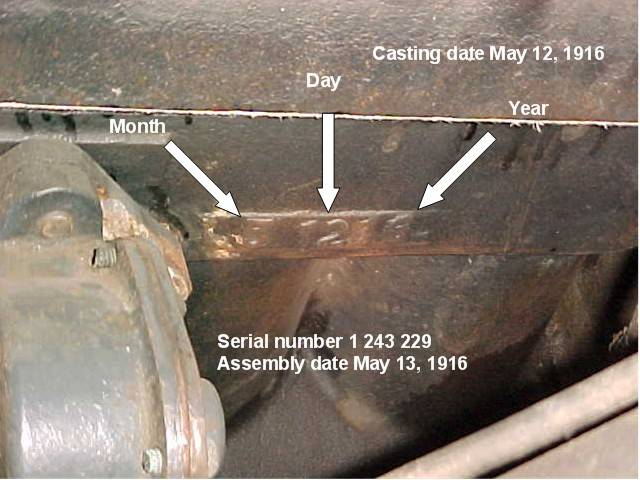 on Ford Engine Block Numbers Location