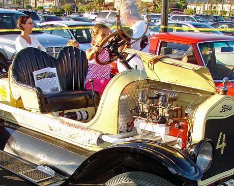 car show kids