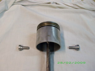 tool for piston pin