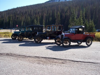 A274 cars on Cameron Pass