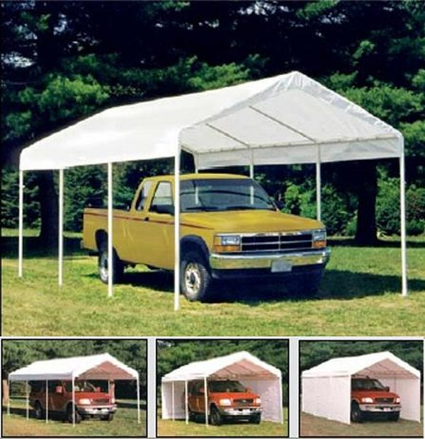 Canvas Carports Made Of : Model t ford forum canvas garages