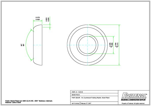 Model T Ford Forum: Supplier for Finishing Washers - Flush Type