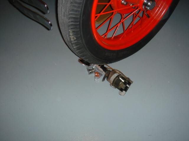 Model T wheel chock