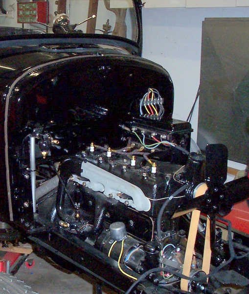 model t ford forum color of plug wires? Model T Coil Diagram \u002726 t with black wires w red tracer on spark plugs