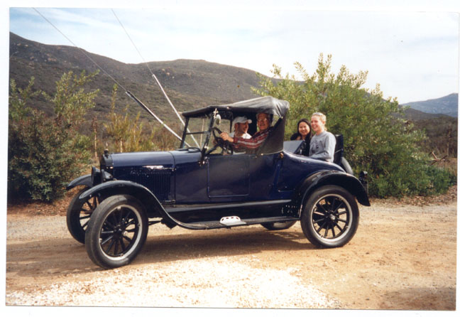Model T Ford Forum Rumble Seat