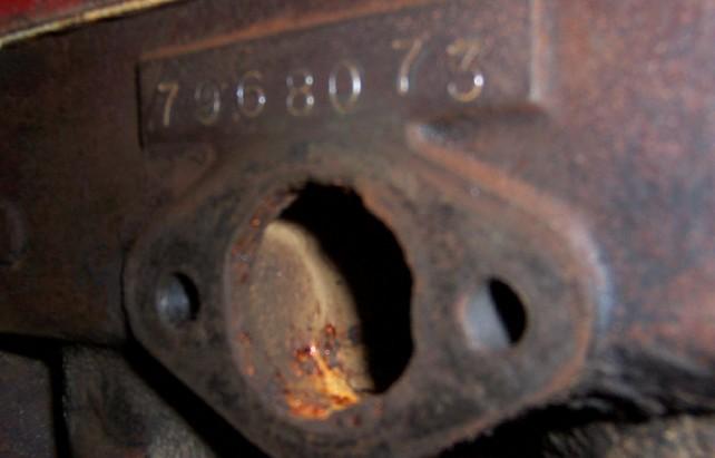 Model T Ford Forum Vin Number On A 1923 Model Tt Truck