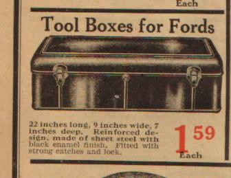 Model T Ford Forum Runningboard Tool Box
