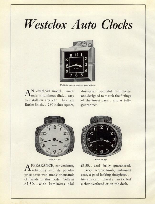 Clock ad