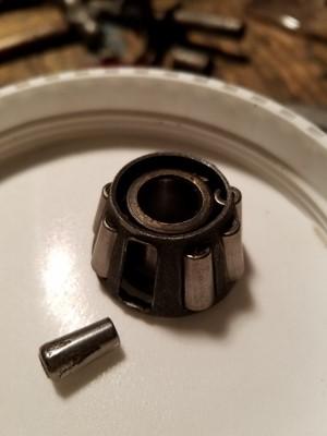 Unobtainium tapered bearing.