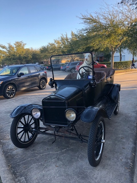 Model T with Balto.