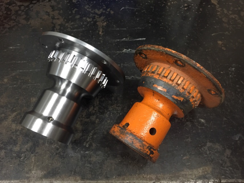 New Phelps wire wheel hubs