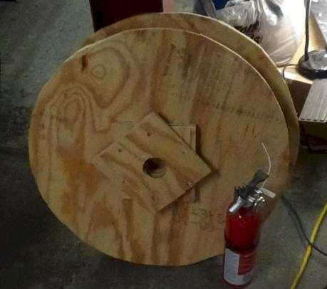 plywood wheel
