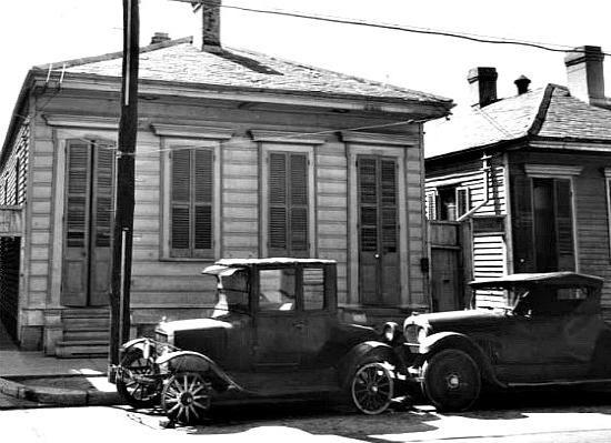 North Rampart New Orleans 1930