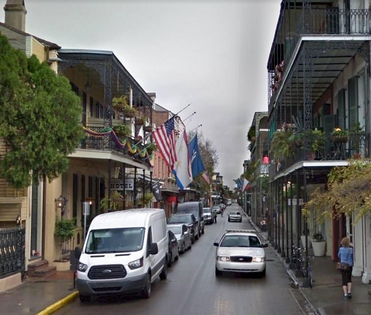 915 Royal St, New Orleans 1926 modern