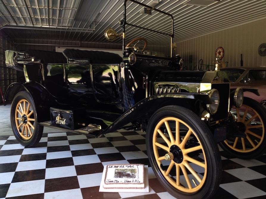 1916 Touring on 100th Birthday