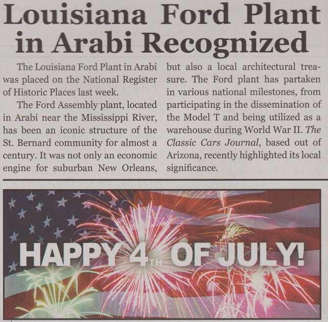 Ford plant in Arabi