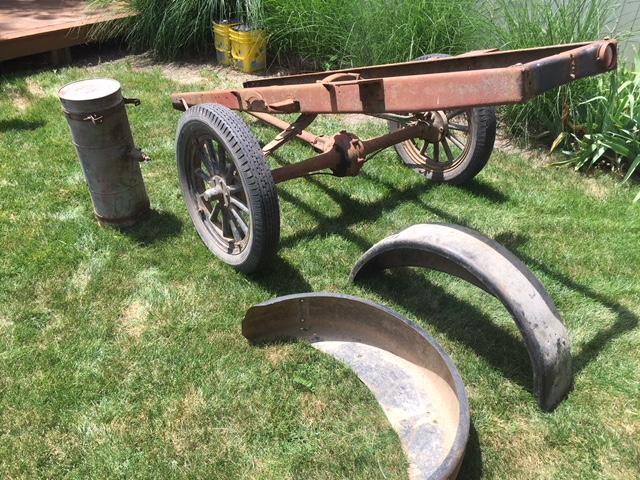 Webb Model T Parts