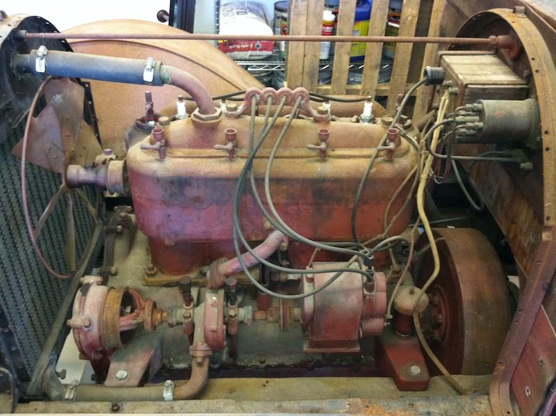 """BUDA """"T"""" motor left side"""
