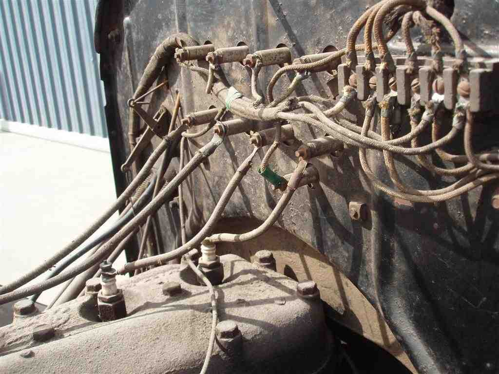 Model T Ford Forum Wiring Harness Routing On Firewall And Pictures Scrap Wire Regards John