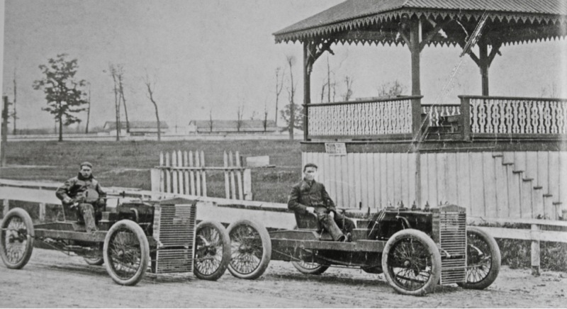 Model T Ford Forum: OT - Ford's 999 and Arrow racers, together