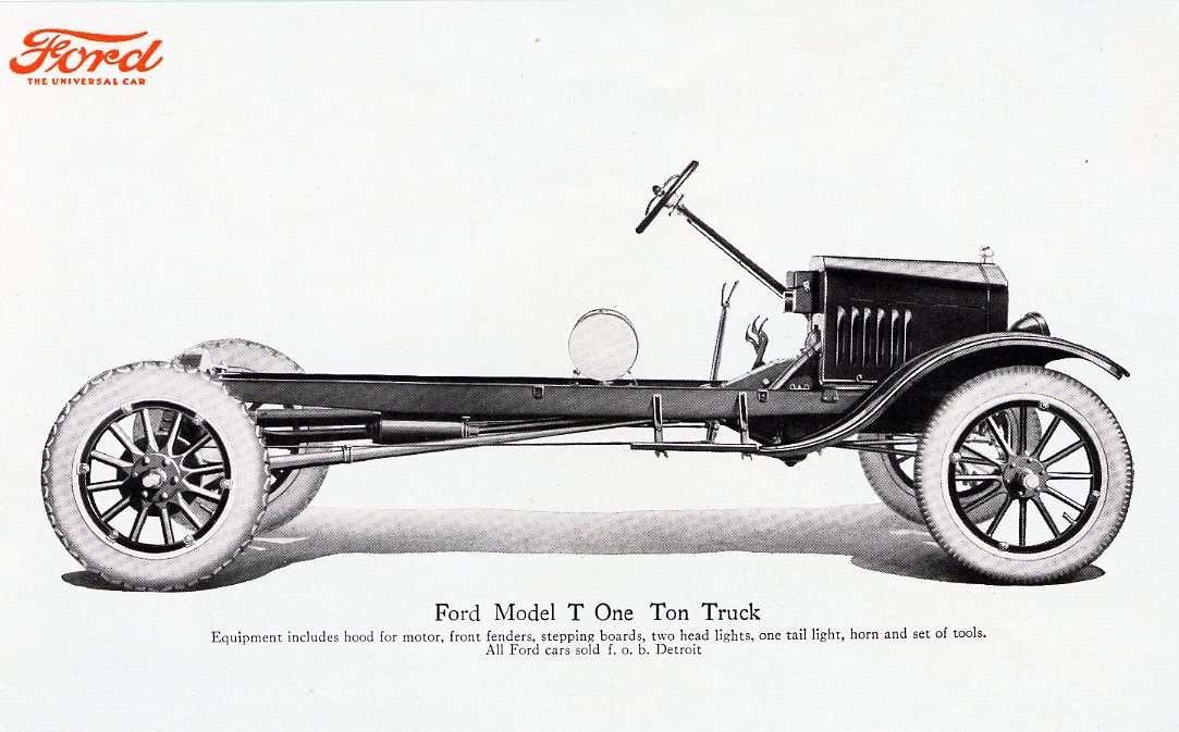 Model T Ford Forum: Rolling chassis question