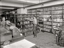 1920s Dealer Parts Department - Interior
