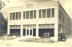 1920 Ford dealer Taylor, Texas