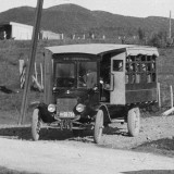 Bus - New public school bus service 1925 (2)