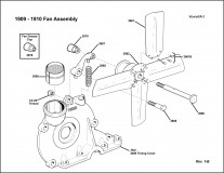 1909-1910 Fan Assembly Rev. 1-B