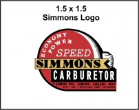 Simmons Super Power Logo Art