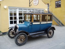 1922 Model T danish build 4-door