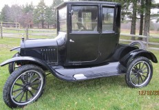 '22 Model T Ford Coupe after restoration 4
