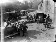 WW1 NZ Motor Transport Aug 1918