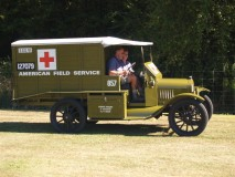 1915 Ambulance Replica